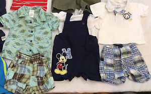 3-6 month baby boy summer clothing lot