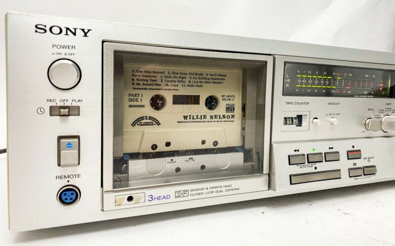 Sony TC-K71 Stereo Cassette Deck - Just Serviced -
