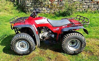 Honda big red 4x4 350cc quad
