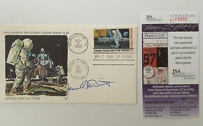 James McDivitt Signed Autographed Apollo 11 First Day Cover JSA Certified