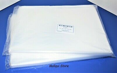 200 Clear 12 X 18 Poly Bags Lay Flat Open Top Plastic Packing Uline Best 1 Mil