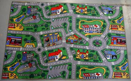 New Kids City Roads Large Floor Play Mat Non Slip 133 x 200 cm