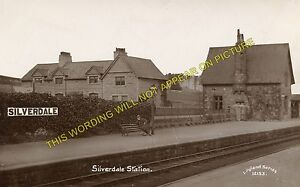 Silverdale Railway Station Photo. Carnforth - Arnside. Grange-Over-Sands Line