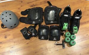 Roller skates and accessories