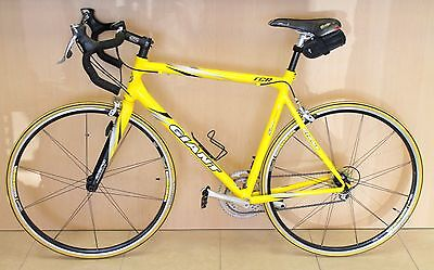 Giant Road Bike TCR CR Compact SL 6000 Series Aluxx Aluminum Alloy Yellow Color