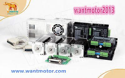 Us Free Wantai 4axis Nema23 Cnc 425oz-in 57bygh115-003b Dual Shaft 3a Cnc Cut