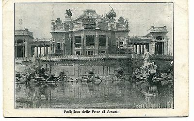 1913 Padiglione Feste di Scavalli dest. Viareggio Guller Moggiano FP B/N VG