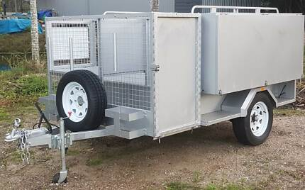 "HEAVY DUTY PREMIUM MOWING/LANDSCAPING TRAILER - 9 x 6""6'"