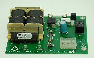 Bennett X-ray Pcb Power Supply 208112 Rev A