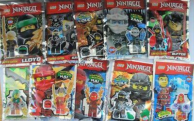 Lego Ninjago Minifigur AUSSUCHEN Minifiguren Kai, Cole, Buffer, Clouse etc. NEU ()