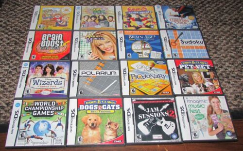 Lot of 16 Nintendo DS Games / All Complete / Fast Shipping