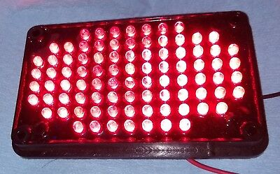 Whelen 400 Series Led Steady Max Light Red 02-038345835a