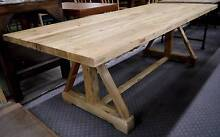 New Large Recycled Rustic Timber French Provincial Dining Tables Melbourne CBD Melbourne City Preview