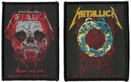 Metallica Tangled Web + Wherever I May Roam Patch Lot of 2 Patches [UK Import]