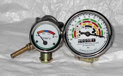 Fordson Dexta Super Dexta Ford Dexta Temperature Gauge And Tachometer