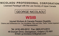 WSIB Legal Worker Representative