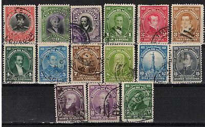 ECUADOR Scott 220//237 Used ## 1 cent start ##
