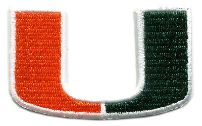 Miami Hurricanes Ncaa College 2 5  Team Logo Patch