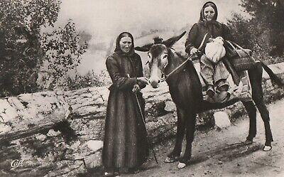 AK Scenes et types des Pyrénées. Frauen auf dem Weg zum Markt