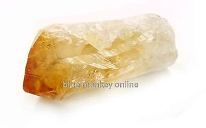 Natural Citrine Point 3 to 5cm Long Unpolished Raw Rough Crystal Chakra Healing