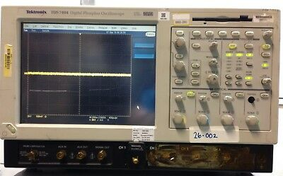 Tektronix Tds7404 4m 4-channel Oscilloscope 4ghz 20 Gss