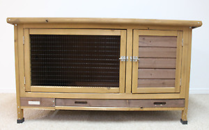 Brand New Solid Wood Bunny Hutch