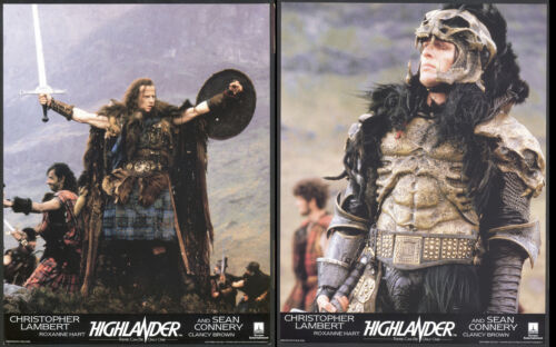 HIGHLANDER (1985) Original Lobby Card Set