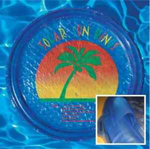 SSR SSRA-100 Solar Sun Rings® Pool Water Heater w/ Palm Tree & Anchors