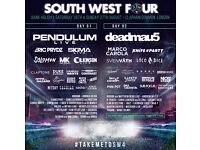 2 South West Four tickets for £45 each