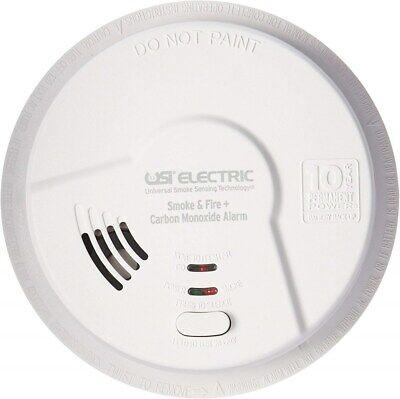 USI Electric MIC1509S Hardwired 3 in 1 Universal Smoke Carbon Monoxide -