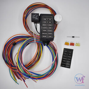 Wondrous Rat Rod Wiring Harness Ebay Wiring Digital Resources Sapredefiancerspsorg