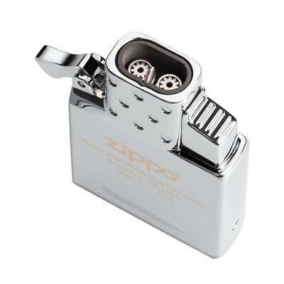ZIPPO Adjustable Butane Double Torch Insert W/ Push-button Piezo Ignition 65827