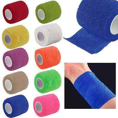 1 Roll Practical Self Adhesive Bandage Tape Finger Joints Wrap Sports Care