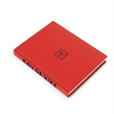 VIXX 3rd Album [EAU DE VIXX] Red Ver. CD+Photobook+Photocard+Guarantee+Postcard