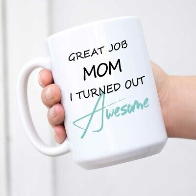Best Mom Gifts - Coffee Mug Funny Gag Mother's Day Present Idea From