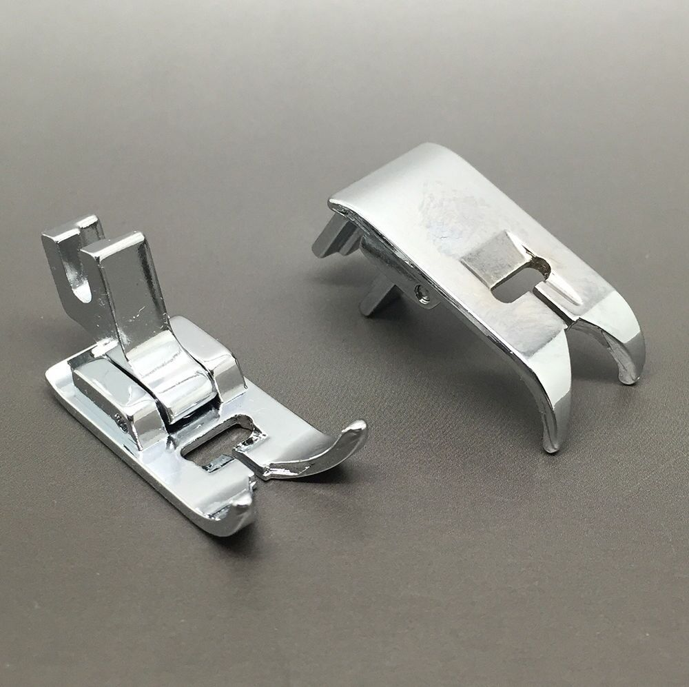 Rolled Hem Foot Haute Tige Vis Sur 2 mm s/'adapte à la plupart de haute tige machines