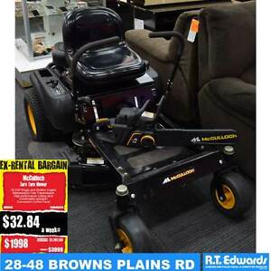McCulloch 16HP Zero Turn Ride On Mower - Bonus FREE Chainsaw Browns Plains Logan Area Preview