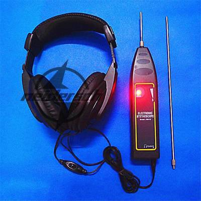 1pcs Water Pipe Leak Detector Motor Abnormal Sound Noise Electronic Stethoscope