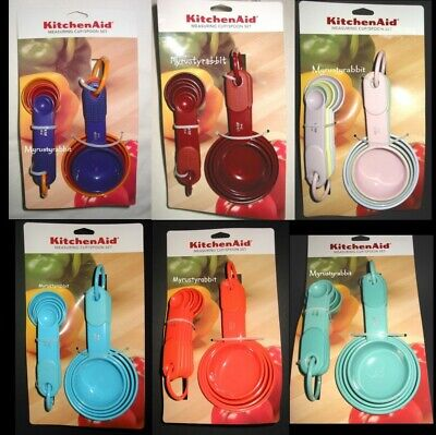 Kitchenaid Measuring Cup & Spoon Set - Kitchen Gadget Soft Grip Handles U Choose Gadgets Measuring Spoon Set