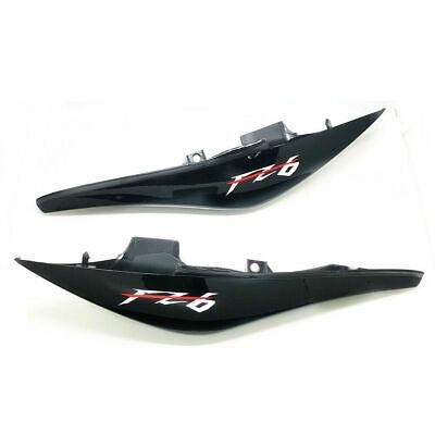 ABS Left Right black Tail Fairing Cowl Shroud For YAMAHA FZ6 FZ-6 2004-2010