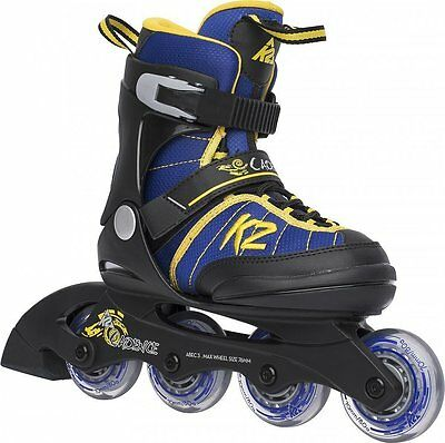 K2 Cadence Jr. Boy Inliner Skates größenverstellbar Größe L (35-40)