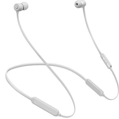 Genuine Beats by Dr. Dre BeatsX Earphones Matte Silver NEW OPEN BOX