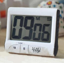 Digital Large LCD Kitchen Cooking Timer Count Down Up Clock Loud Alarm NEW