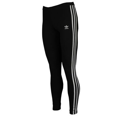 ADIDAS-CLOTHING Adidas Originals Adicolor 3 Stripe Leggings - Women's CE2441 BK
