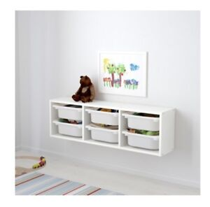 Kids Wall Storage with Containers- IKEA Trofast