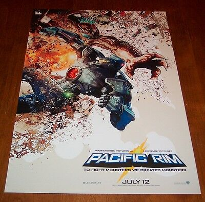 pacific rim poster for sale  Coopersburg