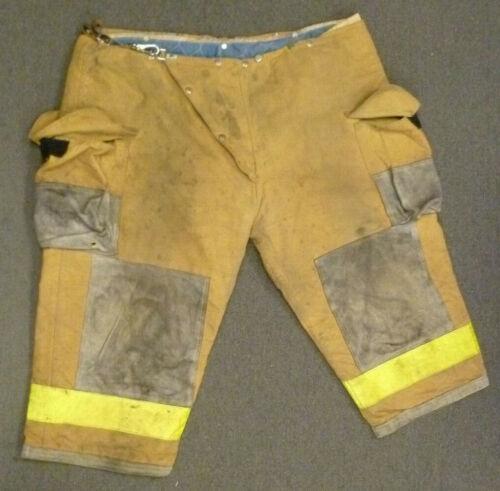 52x23 Body Guard Tan Firefighter Pants Turnout Gear Bunker P017