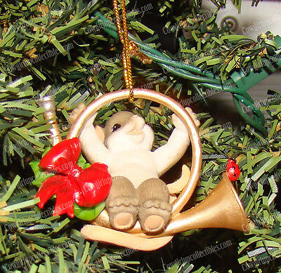 The Holidays are Toot Much Fun (Charming Tails, 4046954) 2015 Christmas Ornament