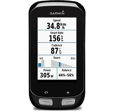 GARMIN EDGE 1000 Bundle WiFi Bluetooth ANT+ Herzfrequenz Fahrrad Navigation Bike