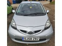 Toyota, AYGO, Hatchback, 2008, Manual, 998 (cc), 3 doors